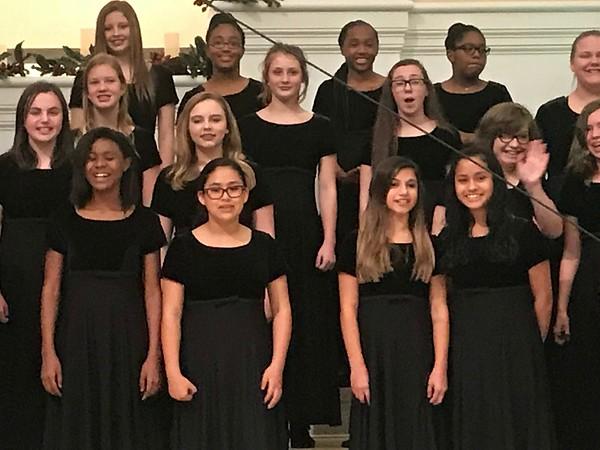 Winter Choir Performance