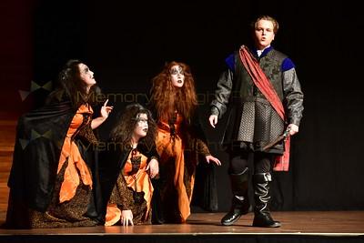 Geraldine High School: Macbeth - Act V sc i, Act I sc iii
