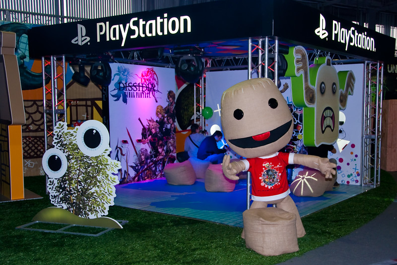 Playstation booth at Igromir 2009