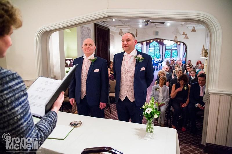 David & John's Wedding, 23Dec2017, ©BronacMcNeill