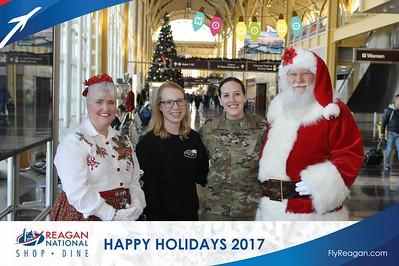 Reagan Shopping & Dining: Happy Holidays 2017 - Day 1