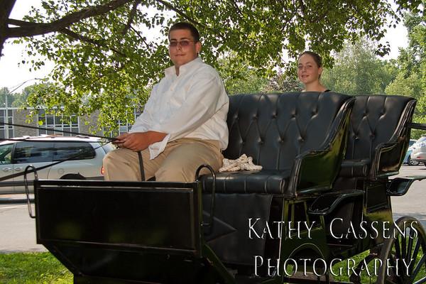 Mrs. Menconeri's Horse and Buggy Ride