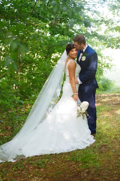 Leah & Seth. Married