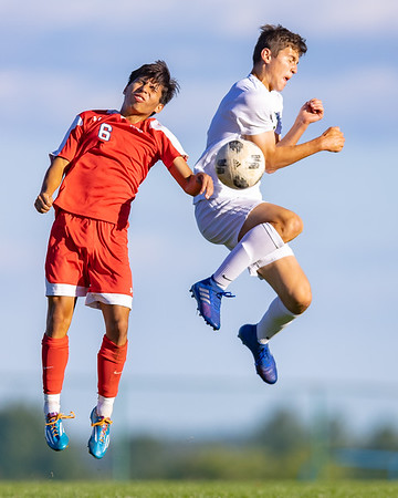 2020-10-08 | Boys Soccer | Central Dauphin @ Red Land