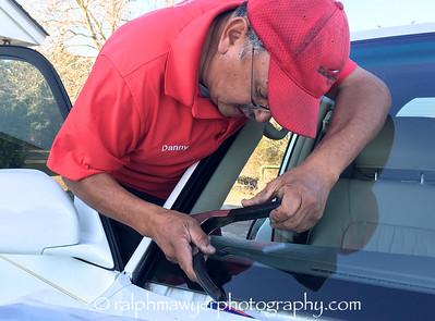 Safelite Windshield Install - Lexus LX 470
