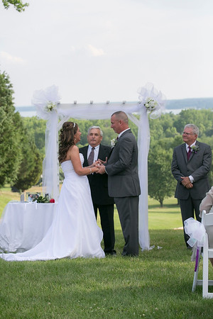 Dawn and Chris, Wedding Ceremony