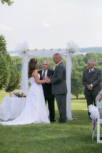 Dawn and Chris, Wedding Ceremony