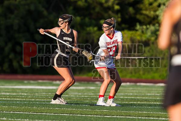 Bishop Moore Hornets VS Lake Highland Prep Highlanders Girls Varsity Lacrosse - 2016