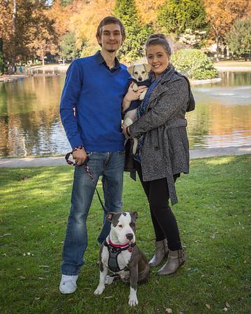 Erica and Pasha Family Portrait