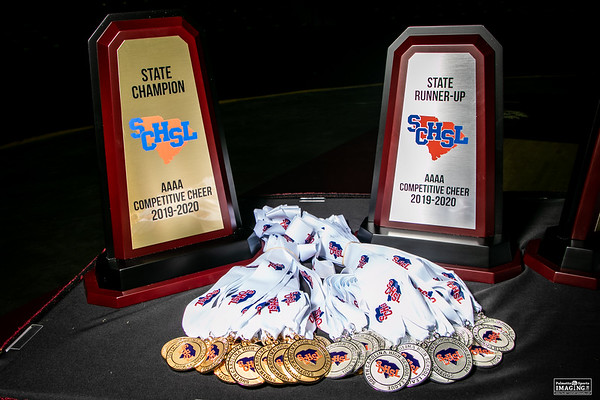 4A 2019 State Cheerleading Championship