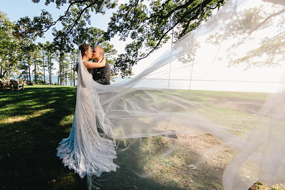 Fall Wedding at Pop Castle in White Stone, VA
