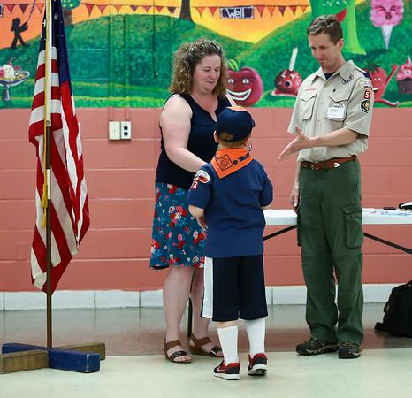 Noah's Tiger Cub Graduation