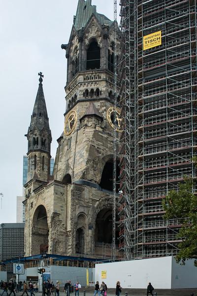 Berlin was leveled in WWII