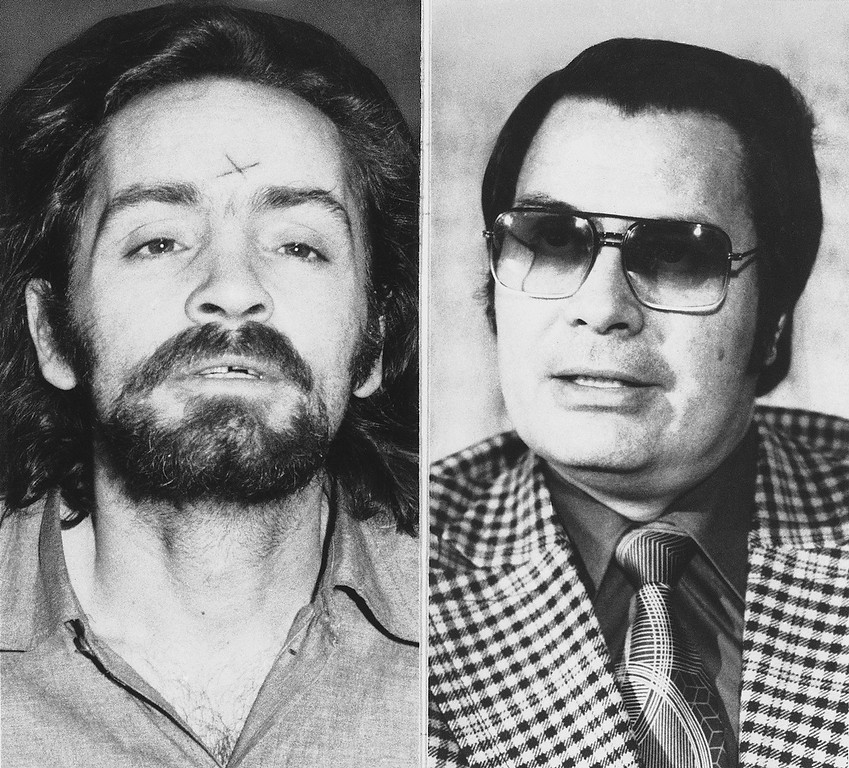 ". Murder and mass suicide in Guyana, final acts in a religious sect\'s weird fantasy of salvation, added the latest bizarre chapter to California\'s history of cult-inspired horror. Charles Manson, left, and Rev. Jim Jones both had avid followers who would carry out violent orders if instructed to. Manson justified his actions claiming he was the messiah and that he would spark a race war that he would ultimately be the main beneficiary of. He used this theory he called ""Helter Skelter\"" to convince his followers to carry out brutal murders in Hollywood. Jones also beleived he was a savior and lead more than 900 people to their deaths in a mass suicide in Guyana in 1978 in order to escape armageddon. (AP Photo)"