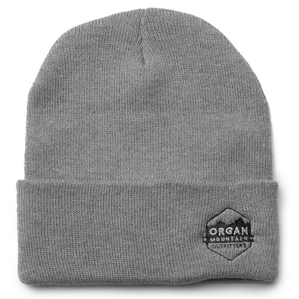 Outdoor Apparel - Organ Mountain Outfitters - Hat - 12 Inch Knit Beanie - Heather Grey.jpg
