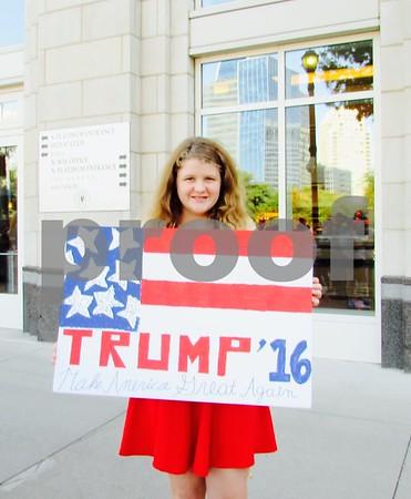 9/14/15 Donald Trump Rally - Dallas by Susan Wells