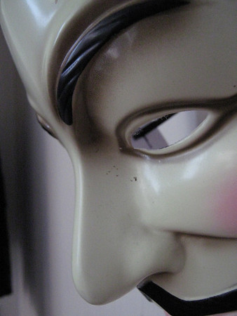 2008 05 24 Alix's V for Vendetta Mask