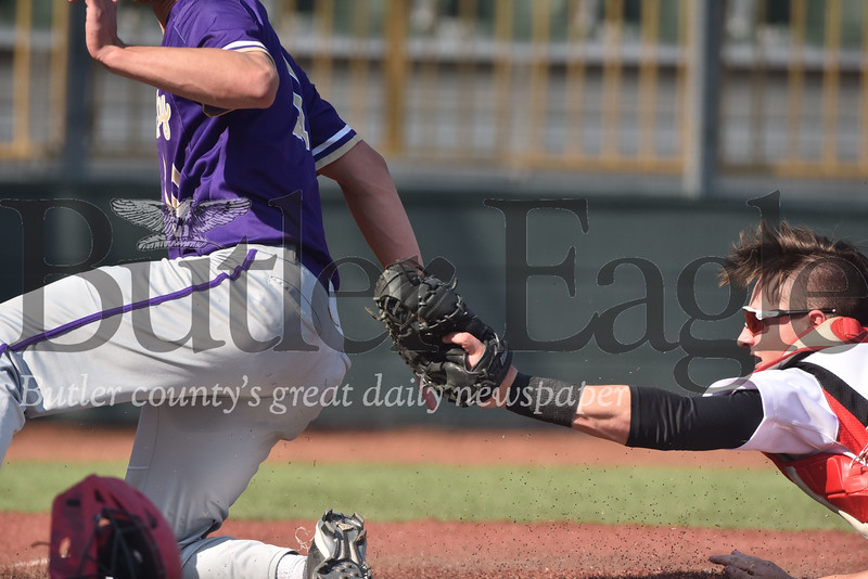 Moniteau vs Karns City 2018 D5-9 3A baseball semi final game at Kelly Automotive Park
