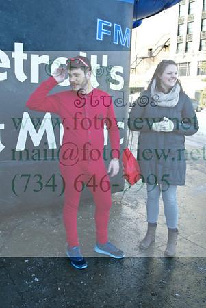 Cupid's Undie Run-Detroit 15 Feb 2014