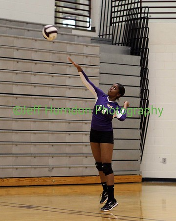 UGHS Volleyball Sr Night 9-15-14