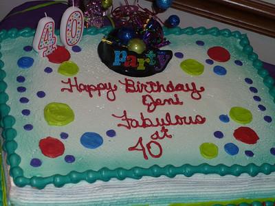 Jeni Warden's 40th Birthday