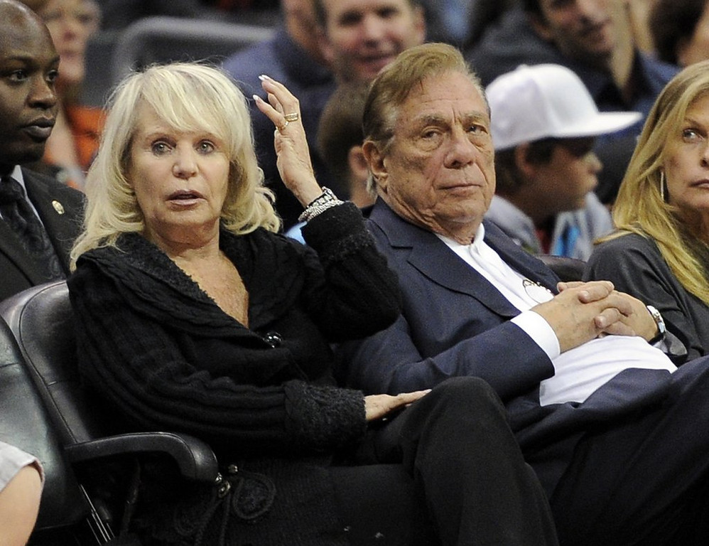 """. 6. DONALD STERLING <p>Letting his wife sell his Clippers. How very white of him! (unranked) <p><b><a href=\'http://www.twincities.com/sports/ci_25822444/donald-sterling-let-wife-sell-los-angeles-clippers\' target=\""""_blank\""""> LINK </a></b> <p>    (AP Photo/Mark J. Terrill, File)"""