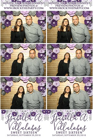Isabella's Sweet 16-Photo Booth Pictures