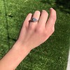 1.11ct Old European Cut Diamond Filigree Ring 23