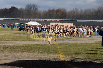 400 Meters, D4 Girls - 2012 MHSAA LP XC