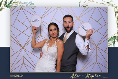 Alex and Stephen's Wedding - July 6, 2019