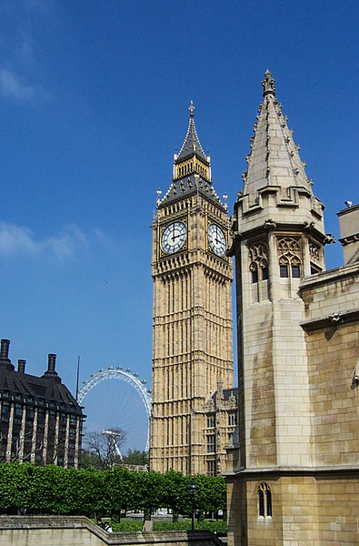 Westminster Abbey - Big Ben
