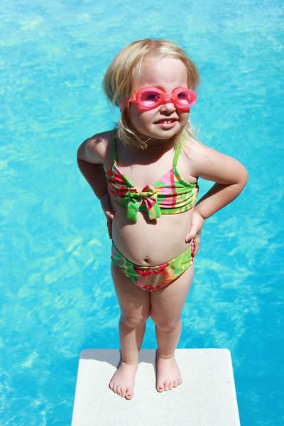 4/25/09 First Swim at Aunt Kim's