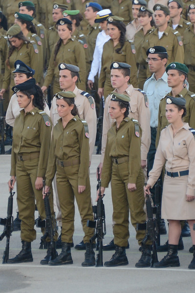 Graduation Ceremony at The IDF Officer Training School
