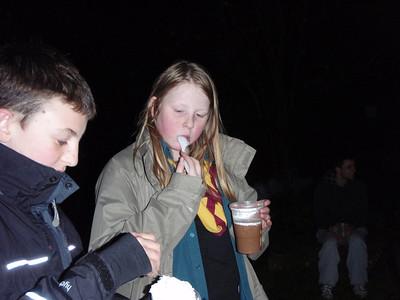 Dark Hike Scouts November 2011
