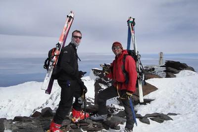 Ski touring Mulhacen