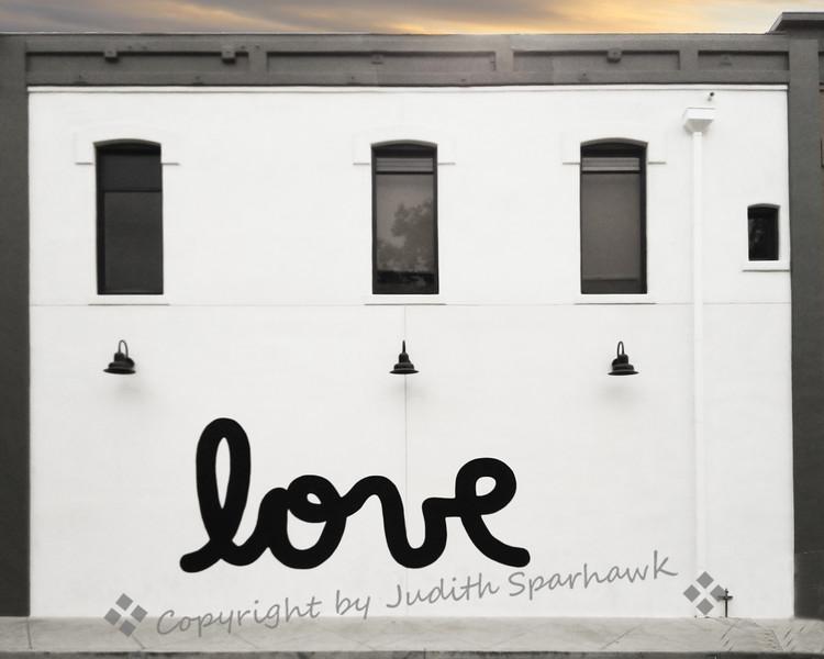 Love on the Wall - Judith Sparhawk