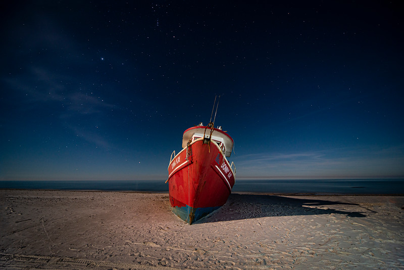 Donna Kay Beached on Cape San Blas