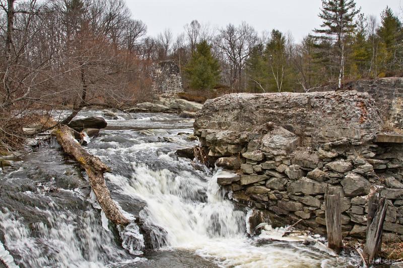 along the Royal River, Yarmouth, Maine