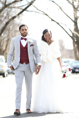 Antoine & Amber Wedding Day