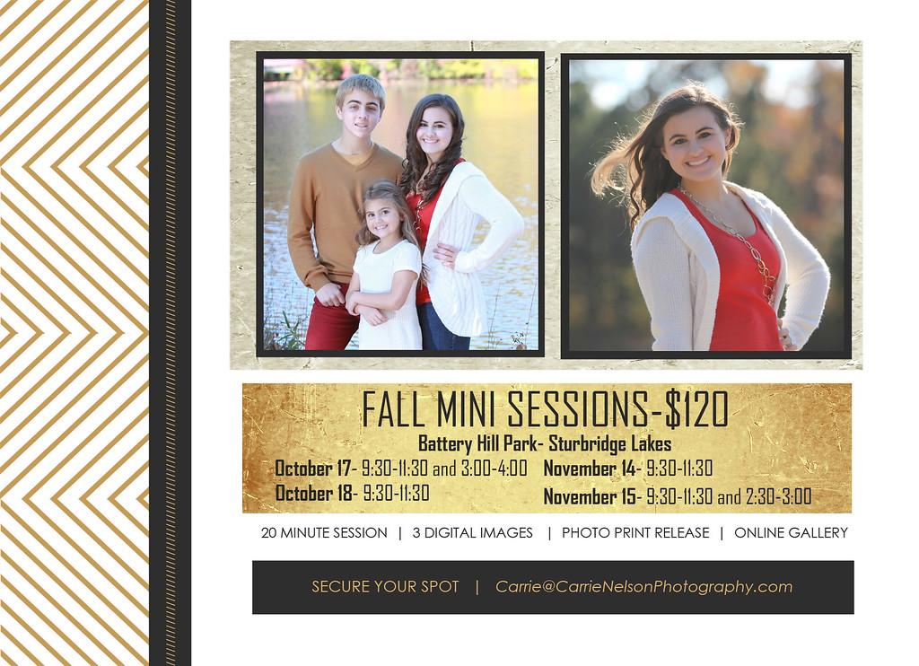 Fall Mini Sessions 2015
