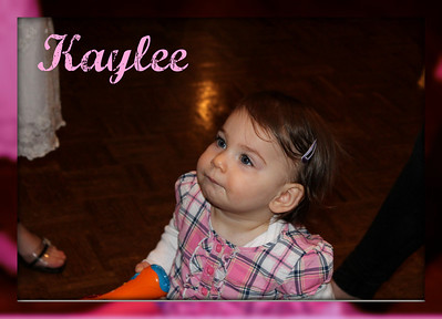 Kaylee's 1st Birthday