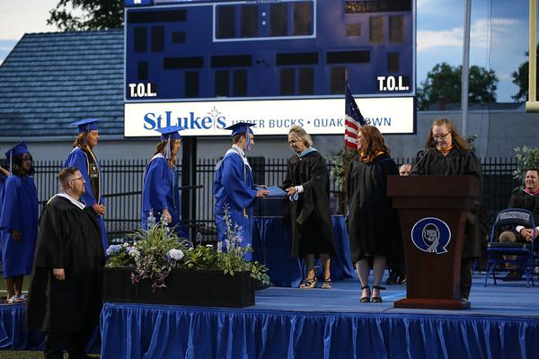 06/18/21 QHS Diplomas Left Side