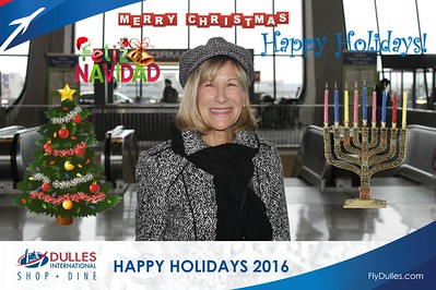 Dulles Shopping & Dining: Happy Holidays 2016 - Day 6
