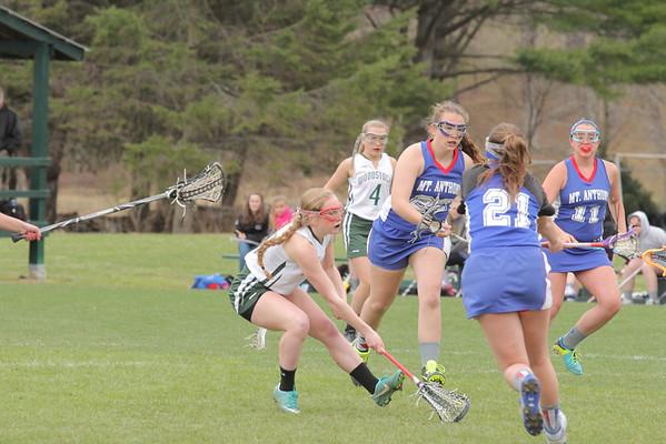 WUHS Girls Lacrosse  vs Mt. Anthony