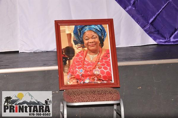The Celebration of LIFE Mrs. Janet Ifebhor / MEG