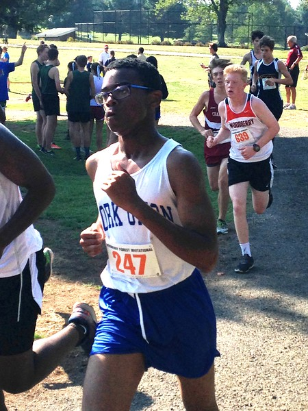 FUMA Cross Country team at the Woodberry Forest Invitational