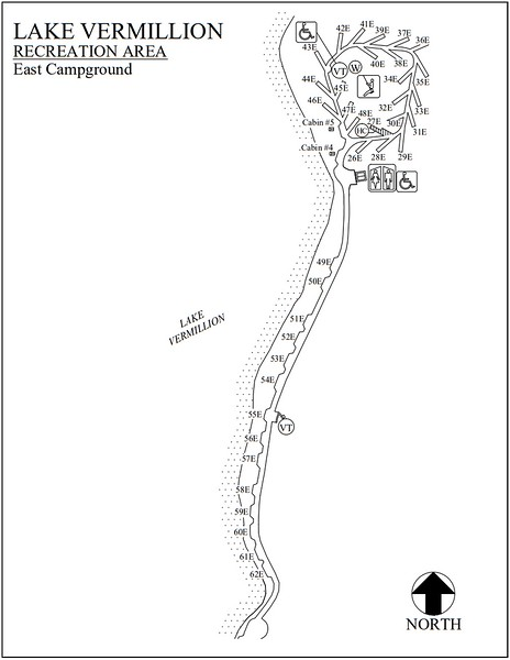 Lake Vermillion Recreation Area (East Campground)