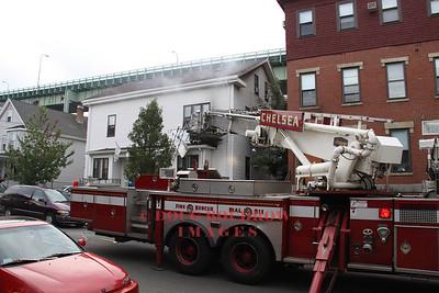Chelsea, MA - Working Fire, 82 Chestnut Street, 8-17-10