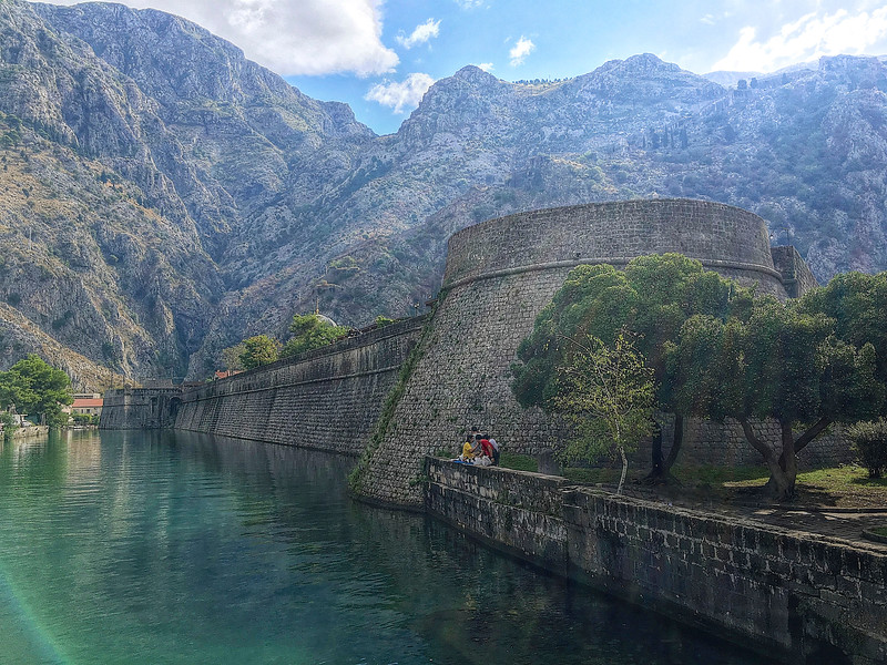 Kotor's fortifications started to head up St John's Hill in the 9th century and by the 14th century a protective loop was completed, which was added to right up until the 19th century. - Montenegro