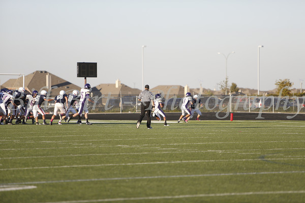 TCHS JV FB B vs Richland 10-17-13